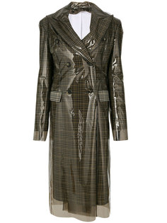 двубортное водонепроницаемое пальто Calvin Klein 205W39nyc