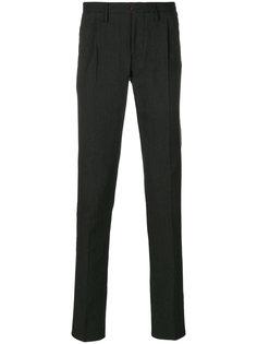 классические брюки кроя слим Incotex