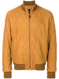 стеганая куртка-бомбер Ermenegildo Zegna