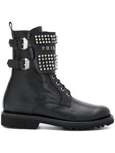 ботинки с заклепками Philipp Plein