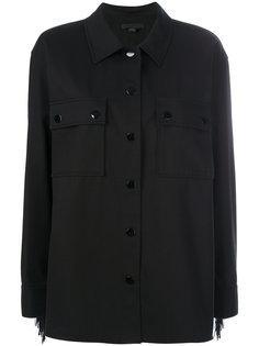 рубашка с бахромой на рукавах Alexander Wang