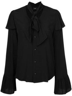 блузка с воротником с завязкой на мягкий бант G.V.G.V.