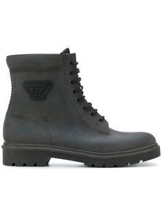 ботинки по щиколотку на шнуровке Armani Jeans