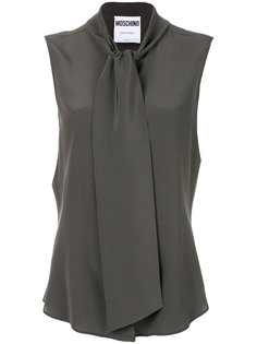 блузка с бантом на шее Moschino