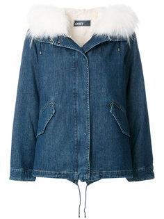 джинсовая куртка  Army Yves Salomon