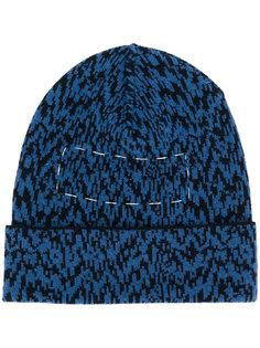 шапка вязки косичкой Oamc