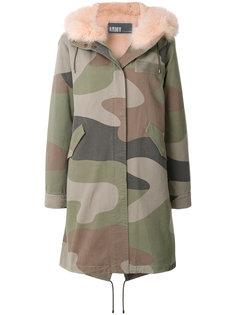 пальто-парка с камуфляжным принтом  Army Yves Salomon