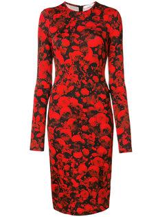 платье с цветочной вышивкой Givenchy