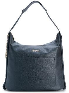 сумка-тоут с зернистой фактурой Armani Jeans