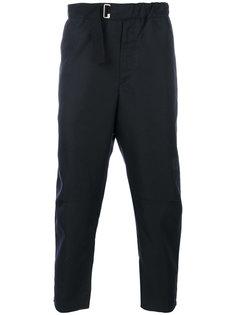 укороченные брюки с карманом на молнии Oamc