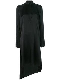 платье с планкой на пуговицах Petar Petrov