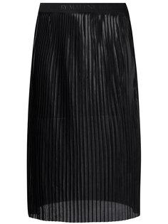 прозрачная плиссированная юбка миди By Malene Birger