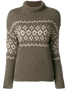 свитер с узором фэйр-айл  Vince