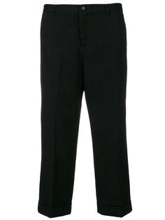 укороченные строгие брюки  Yohji Yamamoto