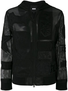 куртка с капюшоном и заплатками Net KTZ