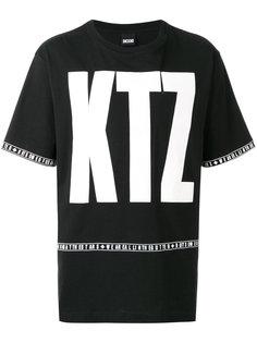 футболка свободного кроя с логотипом KTZ