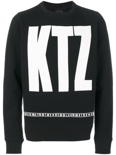 толстовка с логотипом KTZ