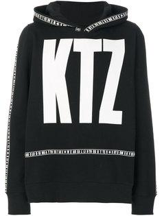 толстовка с принтом логотипа KTZ