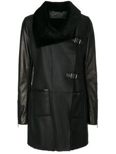 пальто с большим воротником  Barbara Bui