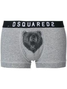 боксеры с эластичным поясом Dsquared2