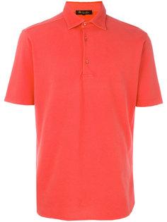 однотонная рубашка-поло  Loro Piana