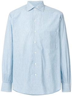 рубашка с косым воротником Loro Piana