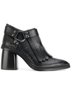 ботинки по щиколотку с бахромой Antonio Marras