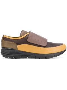 панельные полосатые кроссовки Antonio Marras