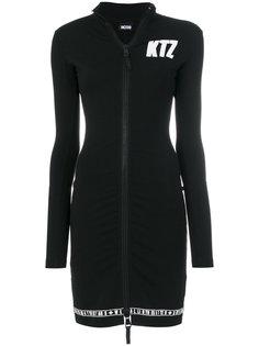 облегающее платье на молнии  KTZ