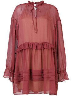 платье-мини с заниженной талией Perseverance London