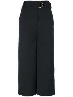 широкие укороченные брюки Tibi