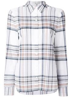 рубашка с узором в шотландскую клетку Tibi