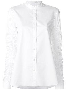 рубашка со сборкой на рукавах Tibi