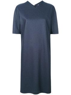 платье-шифт с V-образным вырезом Jil Sander