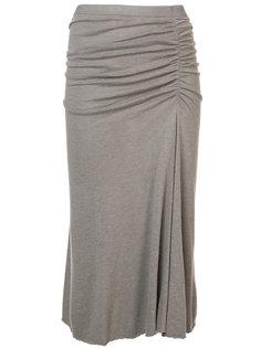 юбка асимметричного кроя Rick Owens Lilies