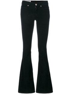 расклешенные джинсы с заниженной талией  Dondup