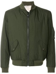 куртка-бомбер с меховой подкладкой As65
