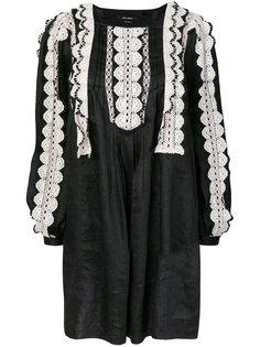 платье с кружевной отделкой  Isabel Marant