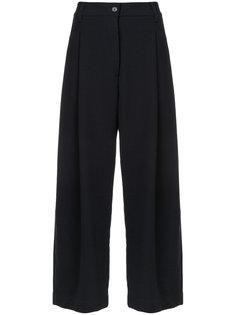 широкие укороченные брюки Studio Nicholson