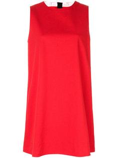 платье шифт с отворотом  Marni