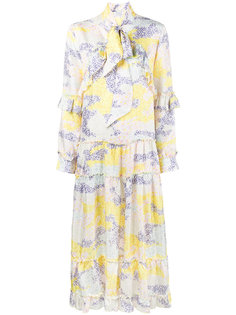 платье с длинными рукавами Camo Flower Saks Potts