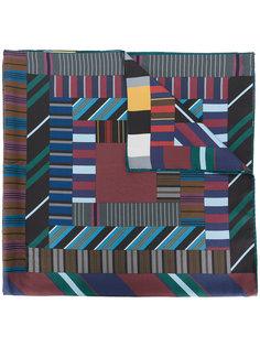 шарф с геометрическим рисунком Faliero Sarti