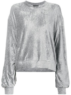 свитер со шнурком на рукавах Andrea Yaaqov