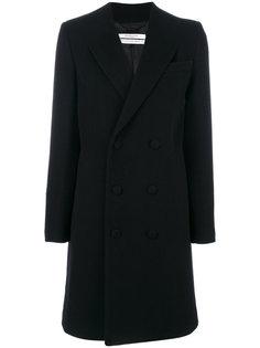 классическое двубортное пальто Givenchy
