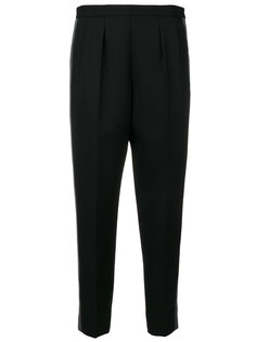 укороченные брюки с полосками по бокам  Maison Margiela