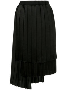 асимметричная плиссированная юбка Astraet
