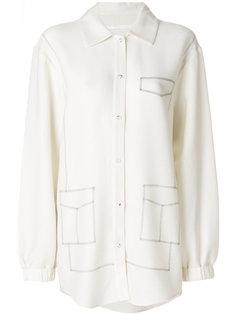 рубашка с декоративной строчкой  Pinghe