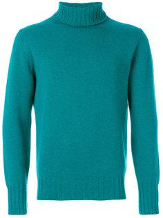 свитер с отворотом Doppiaa