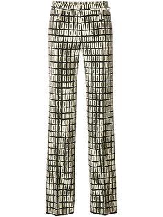 брюки с принтом Graphic Squares Valentino