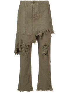 джинсы с накладной панелью R13
